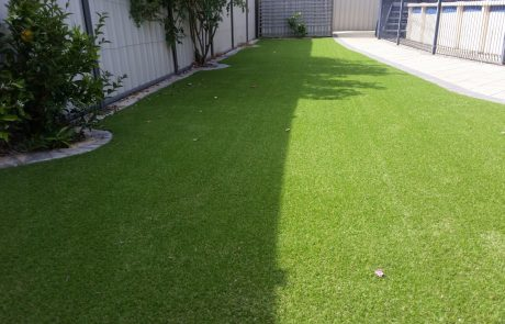 Synthetic Turf Sheds Shade and Turf