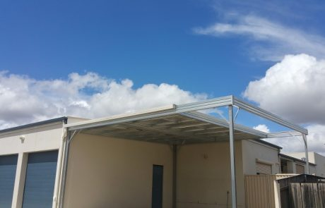 Carport with Awning Sheds Shade and Turf Canberra