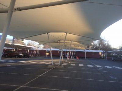 Waterproof Fabric-Replace-Airport-Carpark