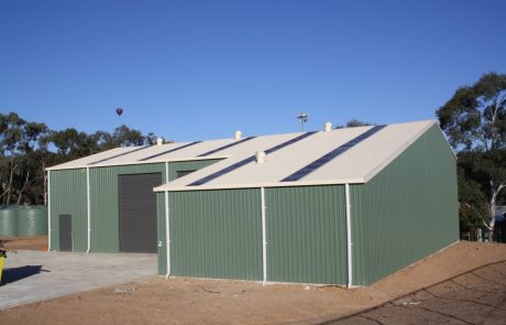 Supply and Installation of Steel Sheds and Buildings