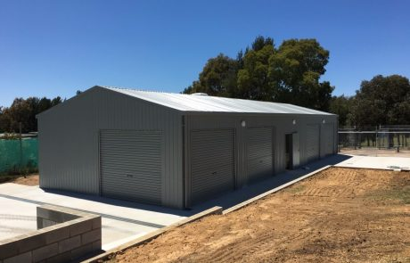Sheds Shade and Turf Canberra, commercial workshop and garage