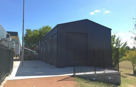 Sheds Shade and Turf Canberra, schools storage