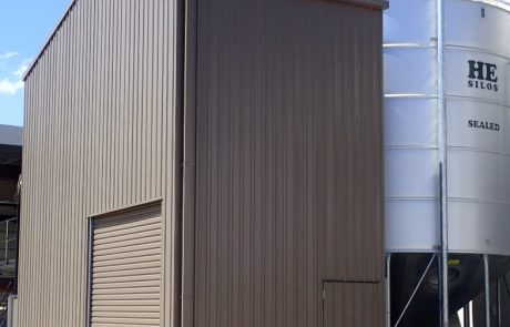 Sheds Shade and Turf Canberra, factory