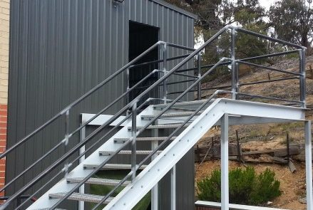 Sheds Shade and Turf Canberra, two storey commercial shed