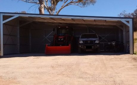 Sheds Shade and Turf Canberra, machinery farm shed