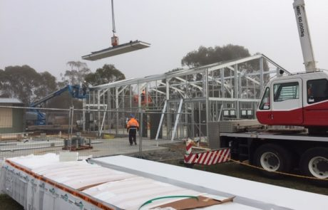 Commercial Steel Building with Development Approval