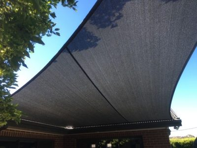 Domestic Fascia Fix Shade Sail