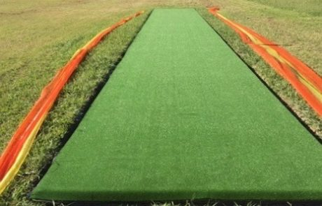 Synthetic Turf Cricket Pitch