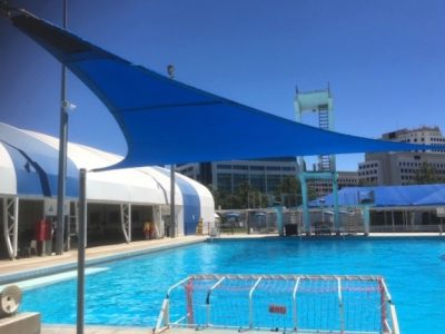 Custom Public Pool Shade Sail