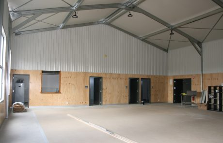 Gymnasium by Sheds Shade and Turf Canberra