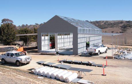 Custom Large Farm Shed