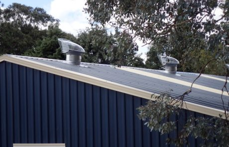 Vented Sky Domes