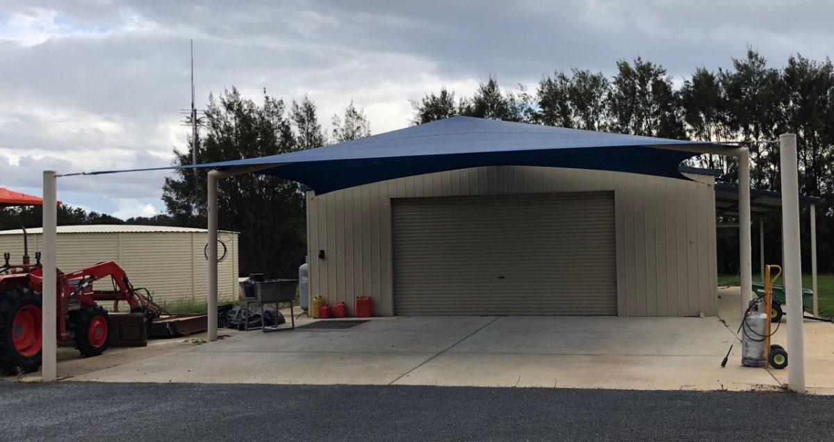 Carport Shade Structure