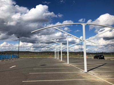 Commercial Shade Structure for Carpark